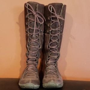 Timberland long boots with linning